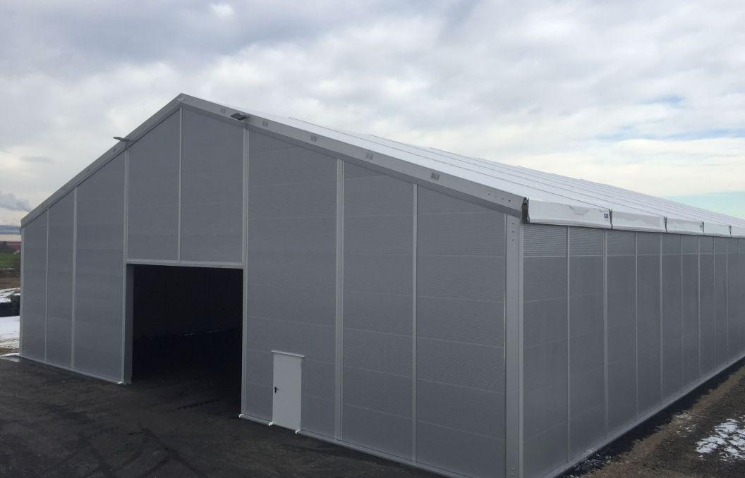 1000 m² Lagerzelt