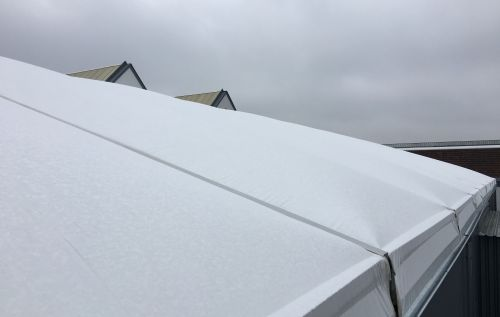 Dacheindeckung mit Thermoplanen
