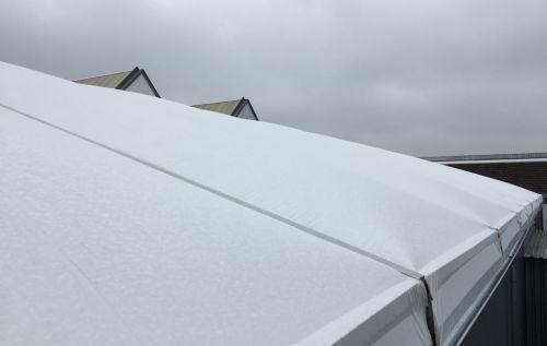 Dacheindeckung mit Thermodachplanen