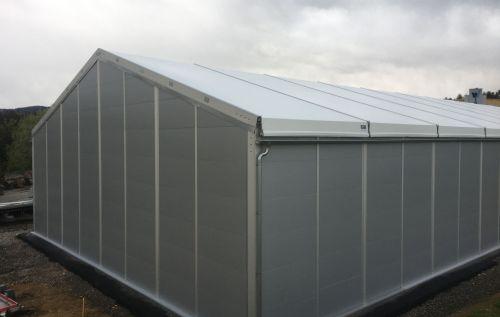 1200 m² Lagerzelt