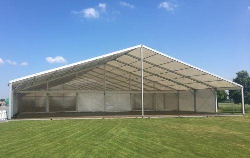 30m Zelt mit Vordach