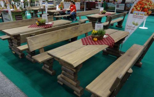 rustikale Garnituren
