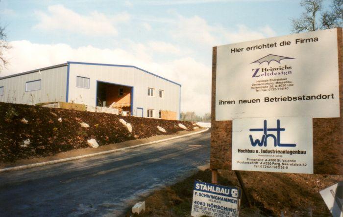 neuer Firmenstandort in Langenstein