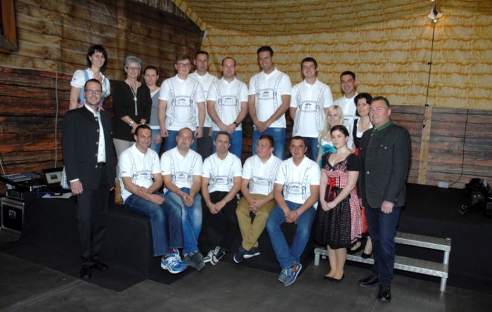 Team Ebersteiner im Jahr 2016